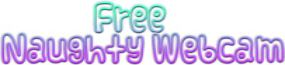 FREENAUGHTYWEBCAMS.COM - The nets best free naughty live xxx webcams. Logo