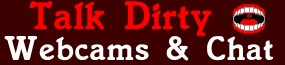 Talk Dirty Cams - Webcam Girls Talking It Off And Talking Trash Logo