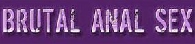 Brutal Anal Sex Logo