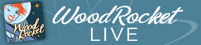 WoodRocket Live Logo