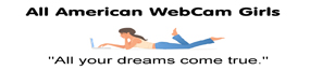 All American Webcam Girls Live Sex Cams Logo