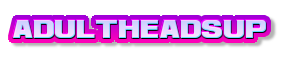 Adult Heads Up - Live Adult Webcams Logo