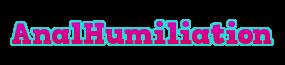 anal humiliation Logo
