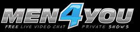 Men4You | The Hottest Gay Cam Chat Rooms Logo