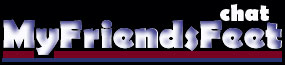 MyFriendsFeet.com Live Foot, Sock & Tickling Fetish Webcam Chat Logo