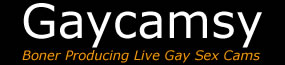 Gaycamsy - Live Gay Sex Cams Logo