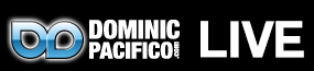 Dominic Pacifico - Live! Logo