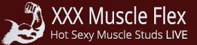 XXX Muscle Flex LIVE Logo