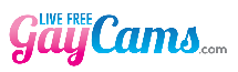 Live Free Gay Cams - Free Chat with Men Logo