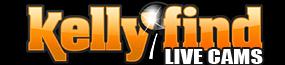KellyFind Live Cams! Logo