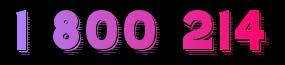 1 800 214 Logo